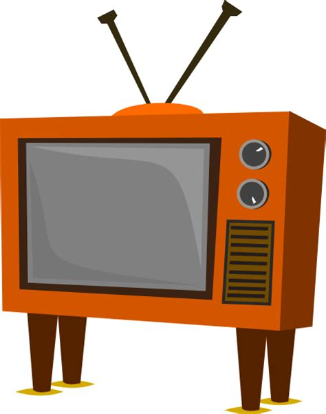 tv clipart tv clip at clker vector clip