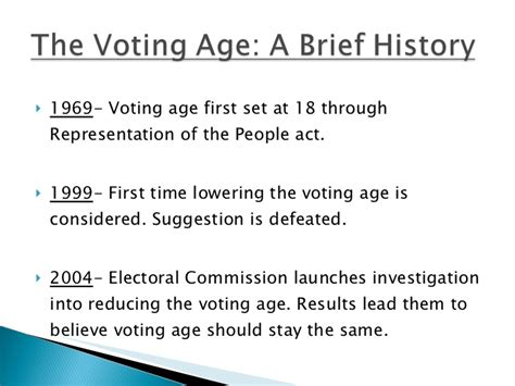 Should The Age Be Lowered To 18 Essay by Should The Voting Age Be Lowered To 16