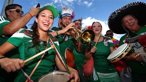 mexico soccer fan gear the best and worst soccer fans