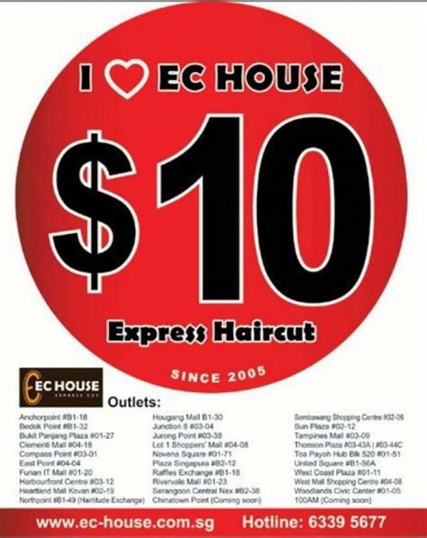 Express Haircut Company Market Harborough | ec house 10 express haircut promotion singapore great deals