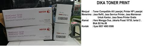 Toner Panasonic Berkualitas harga refill toner cartridge xerox samsung