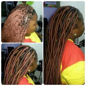 wool hair styles fauxlocs with brazilian wool styled by hairxetera hair