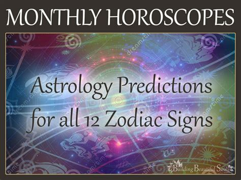 Monthly Horoscope by Free Monthly Horoscope Astrology Predictions All 12