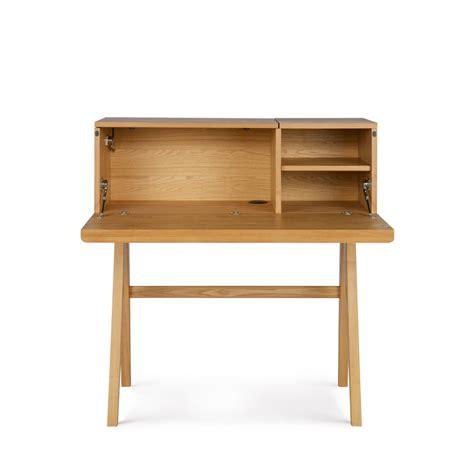 Bureau Secretaire Bois by Bureau Secr 233 Taire En Bois Open Up Drawer