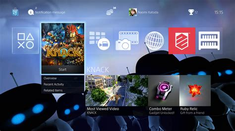 ps4 personal themes the playroom ar bots theme on ps4 official playstation