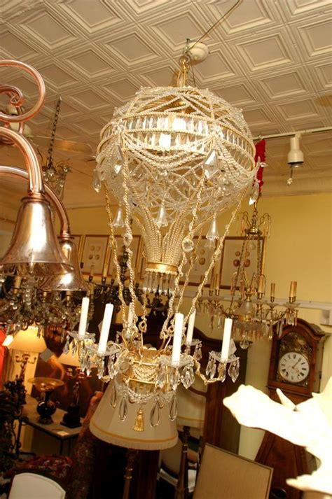 montgolfier chandelier air balloon quot montgolfier quot chandelier at 1stdibs