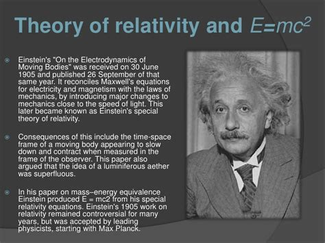 albert einstein biography theory of relativity albert einstein