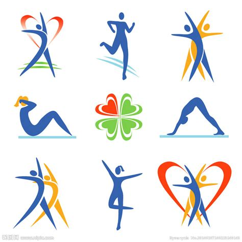 design art lifestyle 体育运动人物图标矢量图 网页小图标 标志图标 矢量图库 昵图网nipic com