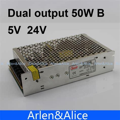 Switching Power Supply 5v Dc Output 5 A 25watt d 50w dual output 5v 24v switching power supply ac to dc dc6a dc1a in switching power supply