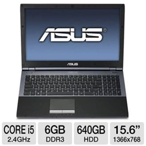 Laptop Asus I5 7 Jutaan asus u56e bbl6 refurbished notebook pc 2nd generation intel i5 2430m 2 4ghz 6gb ddr3