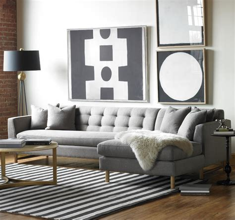 living room with gray sofa designing rooms with an l shaped sofa feng shui interior