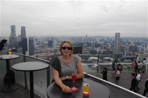 bar on top of marina bay sands singapore whose idea was this