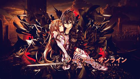 wallpaper laptop sword art online sword art online by hyperwingz on deviantart