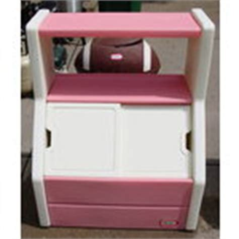 tikes tykes book shelf box chest pink 08 03 2010