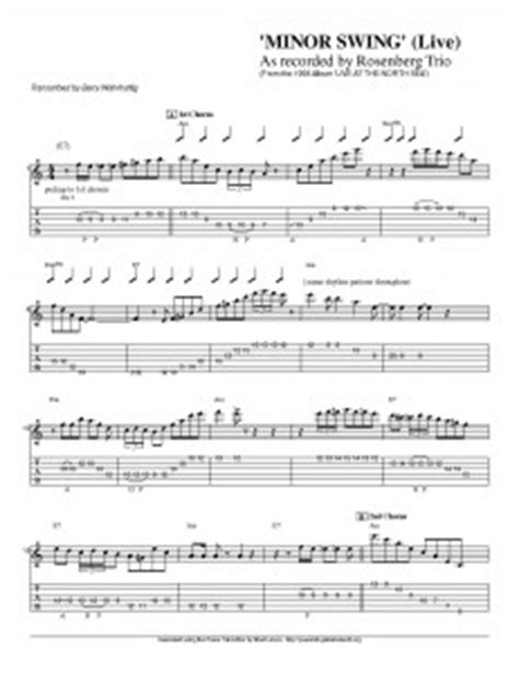 minor swing guitar lesson minor swing guitar lesson 28 images jazz guitar