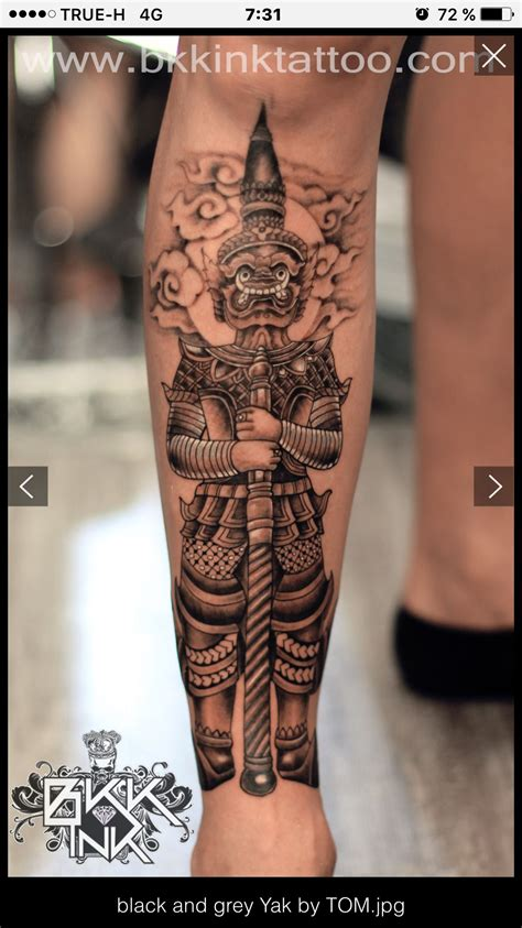 thai tattoos thai mythology tattoos mythology