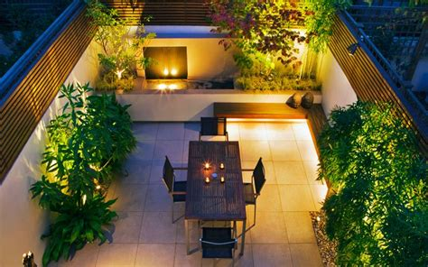 courtyard landscaping contemporary private courtyard