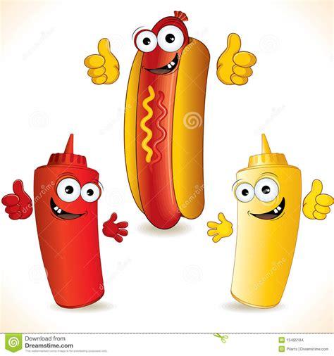 Imagenes Hot Dibujos Animados   hot dog imagens de stock imagem 15495184