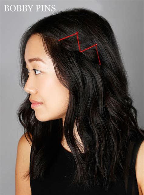 hairstyles to do with just bobby pins ideas for hairstyles with bobby pins how to use bobby pins