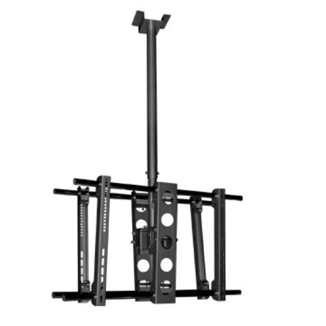 brateck ceiling mount bracket for dual screen up to 70