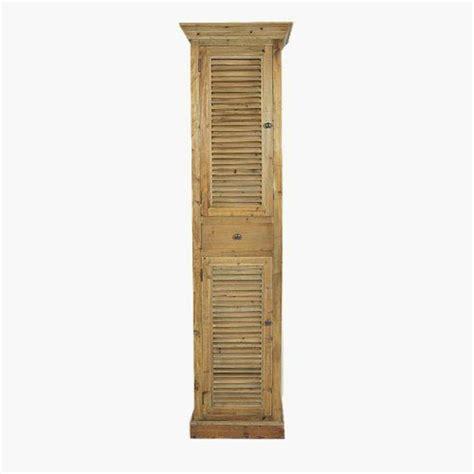Supérieur Meuble Escalier Conforama #6: meuble-colonne-en-bois-colonne-salle-de-bain-en-bois-rangement-salle-de-bain.jpg