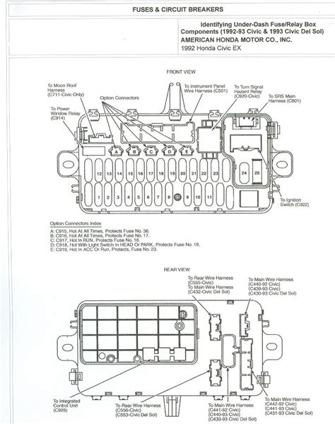97 honda civic ac wiring diagram wirdig with 2010 honda