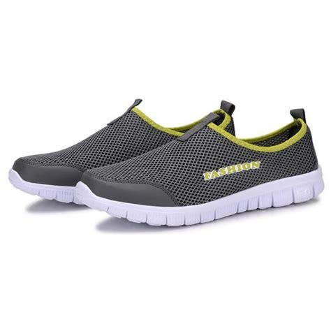 Sepatu Casual Santai Sneakers Pria Wakai Murah Slip On 5 sepatu slip on kasual pria size 40 gray