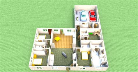attack of the purple panda sweet home 3d floor plan