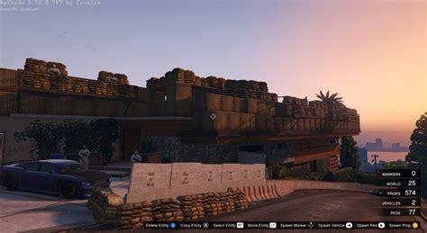 Jeux De Minecraft 2280 by Maison Franklin Base Militaire Mods Pour Gta V Sur Gta