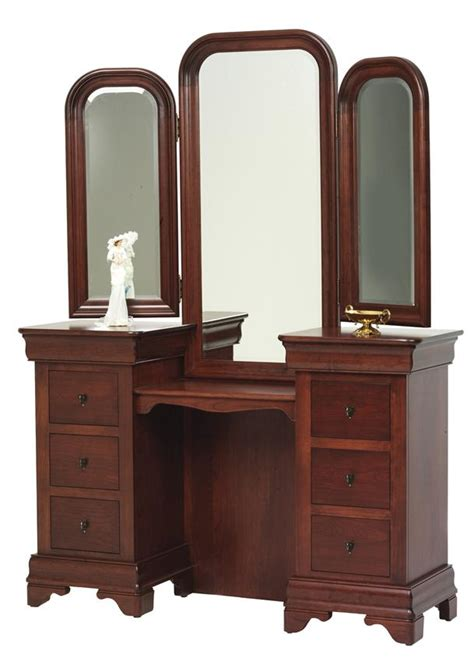 dresser vanity bedroom amish vanities