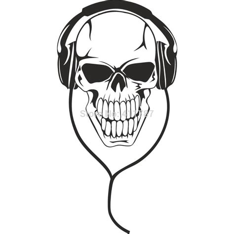 dj headphone tattoo designs www imgkid com the image