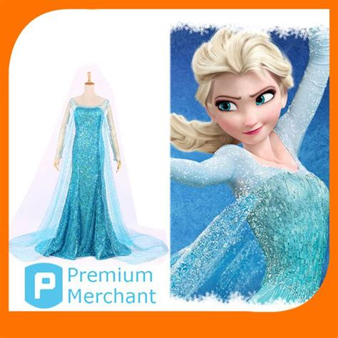 Mukena Frozen Elsa Size Xxxl custom size elsa frozen princess dress plus size blue elsa