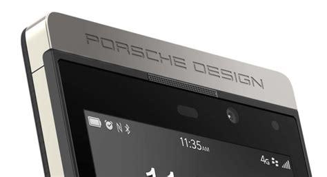 Second Minus Blackberry Porsche P9981 new blackberry luxury phone porsche design with os 10 2 luxuryvolt