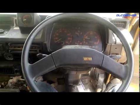 mitsubishi trucks 1990 1990 mitsubishi fuso canter fighter mignon fh100 startup