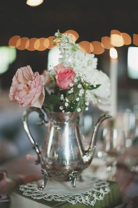 wedding flower pot centerpiece ideas 10 ways to use tea in your wedding