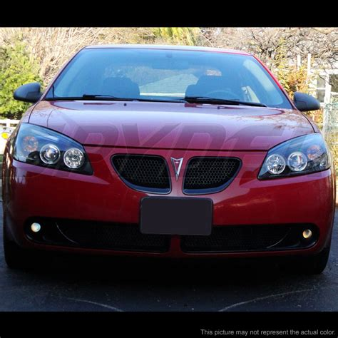 pontiac g6 headlight 2005 2010 pontiac g6 dual eye halo led projector