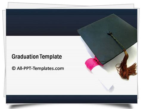 Powerpoint Training Template Sets Graduation Powerpoint Template