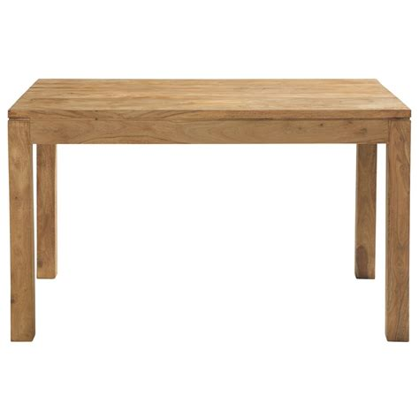 Sheesham Wood Dining Tables Solid Sheesham Wood Dining Table W 130cm Stockholm Maisons Du Monde