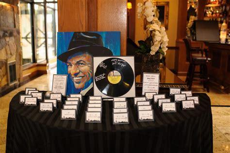 frank sinatra themed 70th birthday birthdaywire event ideas place