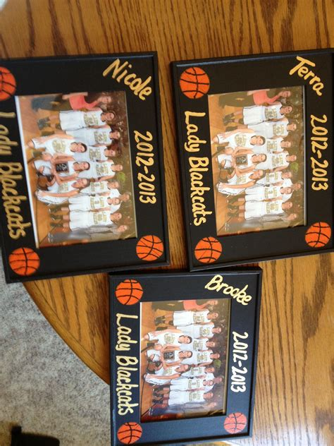 gift card ideas for the elderly frames i made for 2013 basketball seniors my diy projects basketball gifts basketball