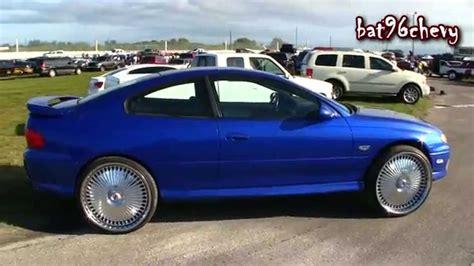 Pontiac Gto Rims by 2006 Pontiac Gto On 24 Quot Dub Bellagios Spinners Wheels