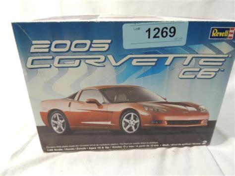 2005 corvette models revell 2005 corvette c6 model kit