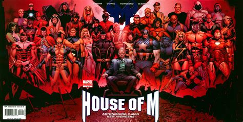 Marvel House Of M house of m a review maurice broaddus