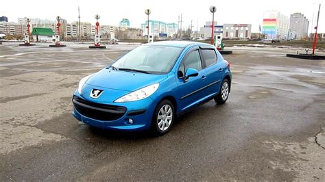 peugeot 207 engine 2009 peugeot 207 start up engine and in depth tour