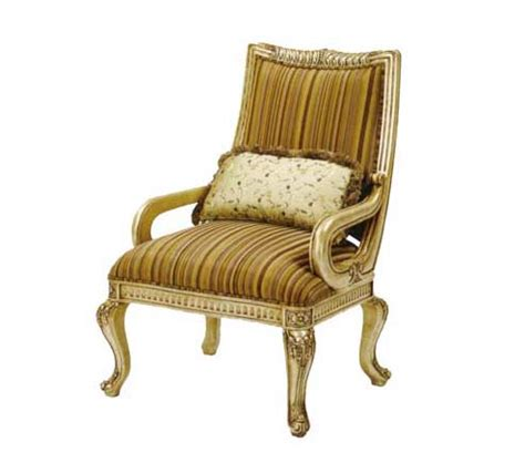 Gold Accent Chair Bt 055 Accent Chair In Antiqued Gold Accent Seating