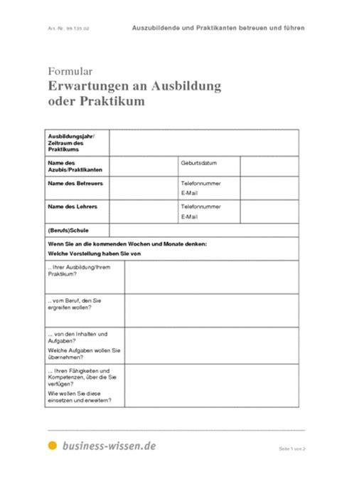 Leistungsbeurteilung Praktikum Vorlage Auszubildende Und Praktikanten Betreuen Und F 252 Hren