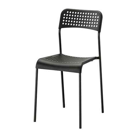 adde chair black ikea