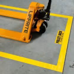 floor marking 101mm yellow toughstripe polyester