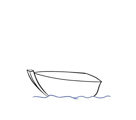 how to draw a boat hull how to draw a boat in a few easy steps easy drawing guides