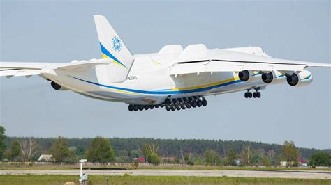 antonov an 225 cargo aircraft air charter service